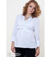 Блуза для беременных Nika белая