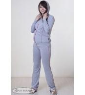 Cпортивные брюки для беременных ANNA серые
