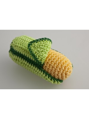 Вязаная ЭКО-игрушка Кукуруза