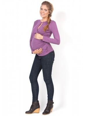 Блуза Злата орхидея для беременных и кормящих