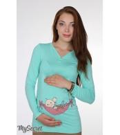 Лонгслив Liv baby для беременных,  мята