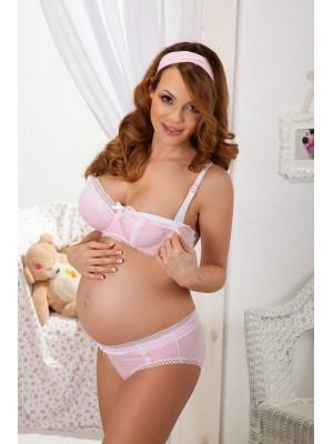 Бюстгальтер для кормящих женщин  MAMA COCO U, розовый