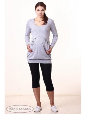 Лосины для беременных  Mia (от 2xL), черный