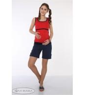 Шорты для беременных Tressi, индиго