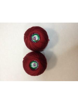 Нитки Ирис для вязания, цвет   бордовый