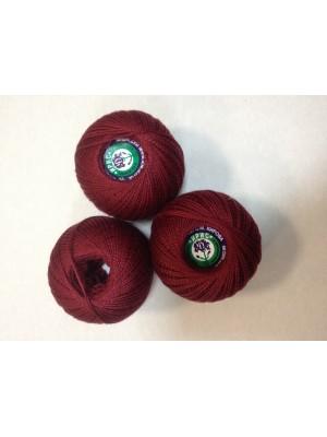 Нитки Ирис для вязания, цвет  бордовый №2