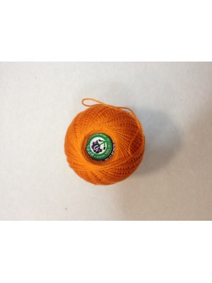 Нитки Ирис для вязания, цвет  оранжевый