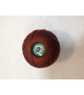 Нитки Ирис для вязания, цвет  коричневый
