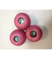 Нитки Ирис для вязания, цвет  свекольный
