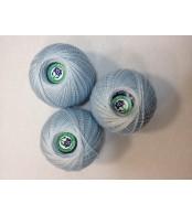 Нитки Ирис для вязания, цвет серый