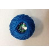 Нитки Ирис для вязания, цвет  синий