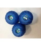 Нитки Ирис для вязания, цвет  синий №3