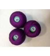 Нитки Ирис для вязания, цвет   темно- фиолетовый