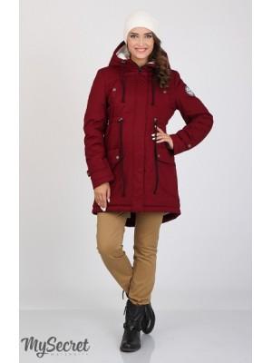 Куртка-парка для беременных   Inira, бордо