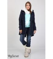 Куртка-парка для беременных   Inira, синий