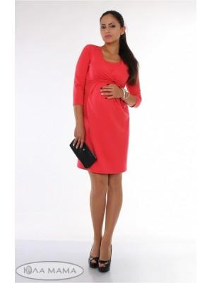 Платье для беременных и кормящих   Winona, коралл