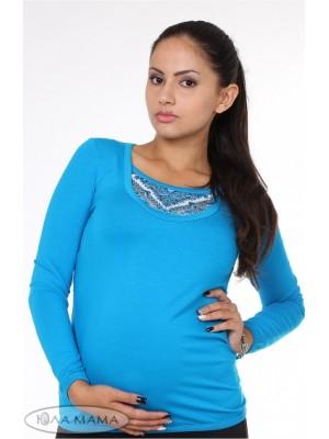 Лонгслив для беременных и кормящих  Layma print