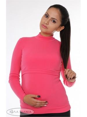 Гольф для беременных и кормящих  Nata, розовый