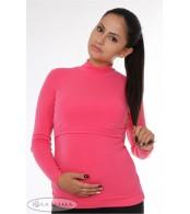 Гольф для беременных и кормящих  Nata, малина