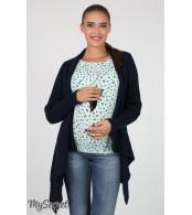 Кофта-шаль для беременных  Meybel,  синий