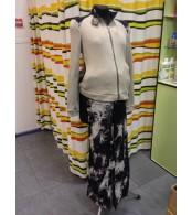 Костюм для беременных  вельветовые брюки и жакет- вязаный трикотаж