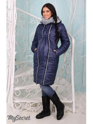 Зимнее пальто для беременных  Avery, синий