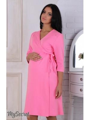 Халат для беременных и кормящих мам Sinty, розовый