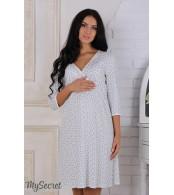 Ночная сорочка  для беременных и кормящих мам  Alisa