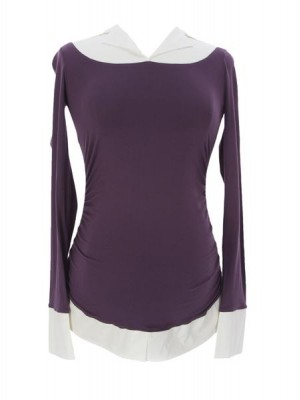 Блузка для беременных Mistique, сливовый