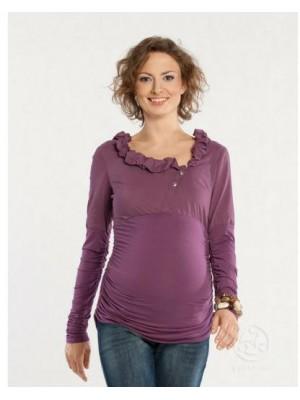 Блуза  для беременных  DAFFY, сливовый