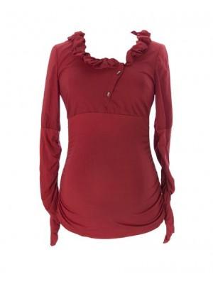 Блуза  для беременных  DAFFY,  красный