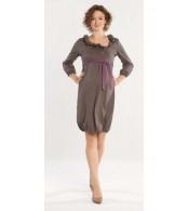 Платье для беременных Moita, темно бежевый