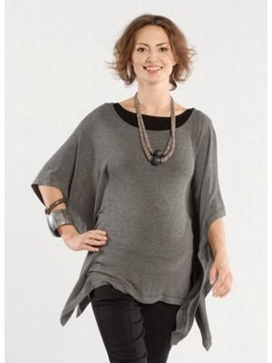 Туника-пончо для беременных Cady,  серый