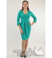 Платье с запахом  для беременных и   кормящих,  минт