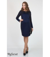 Платье  для беременных  и кормящих  Alen, темно-синий