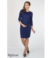 Платье  для беременных  и кормящих   Catherine, синий