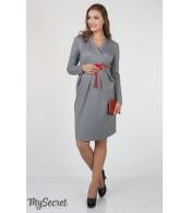 Платье  для беременных  и кормящих   Messalina, серый-меланж