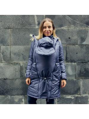 Зимняя слингокуртка Love & Carry® 3 в 1 — Грей