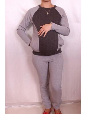 Утепленный спортивный костюм для беременных и кормящих