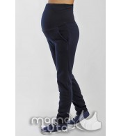 Теплые спортивные штаны Виктори, синий залив