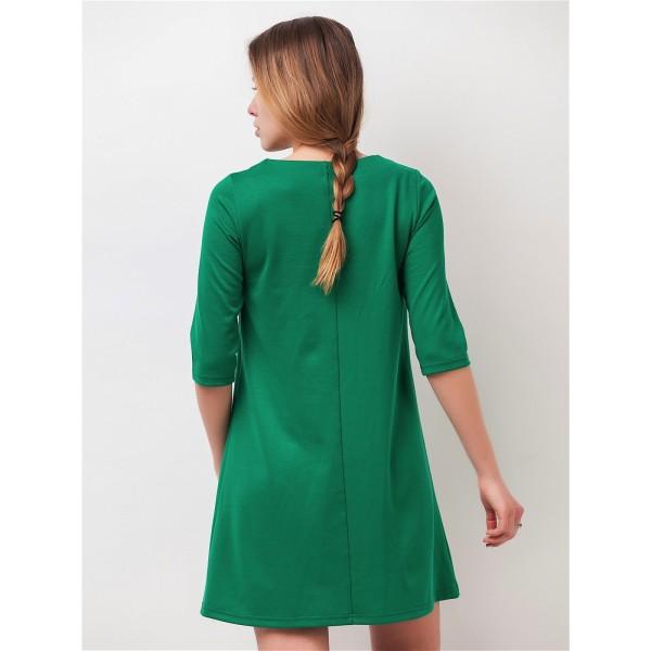 f3d9fbd99b7b Платье-трапеция для беременных - Магазин 9+