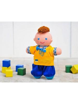 Кукла Мальчик козачок / желто-голубой
