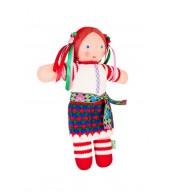 Вязаная ЭКО-игрушка кукла Ганнуся ТМ Фрея