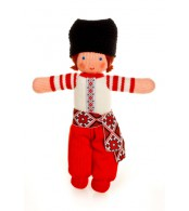 Вязаная ЭКО-игрушка кукла Ивасык ТМ Фрея