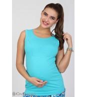 Майка для беременных и кормящих мам Silva, аквамарин