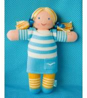 Вязаная ЭКО-игрушка кукла Маринка ТМ Фрея