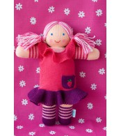 Вязаная ЭКО-игрушка кукла МалинкаТМ Фрея