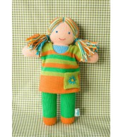 Вязаная ЭКО-игрушка кукла Ярынка ТМ Фрея