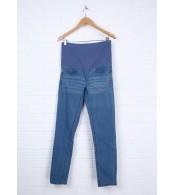 Льняные брюки  Prenatal,  синий