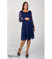 Платье Deisy для беременных, темно-синий